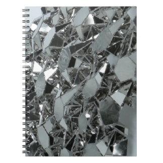 ガラス壊された部分 ノートブック