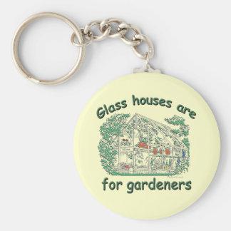 ガラス家は庭師のためです キーホルダー