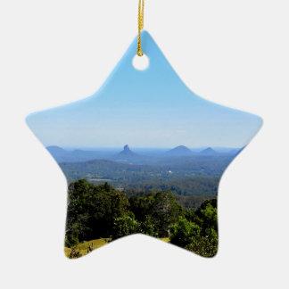 ガラス家山クイーンズランドオーストラリア セラミックオーナメント