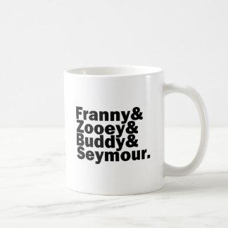 ガラス家族 コーヒーマグカップ