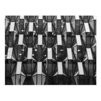 ガラス構造 ポストカード