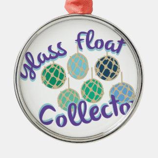 ガラス浮遊物のコレクター メタルオーナメント