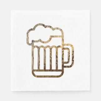 ガラス状ビールナプキン スタンダードランチョンナプキン