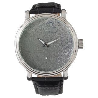 ガラス状水腕時計 腕時計