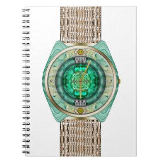 ガラス腕時計 ノートブック