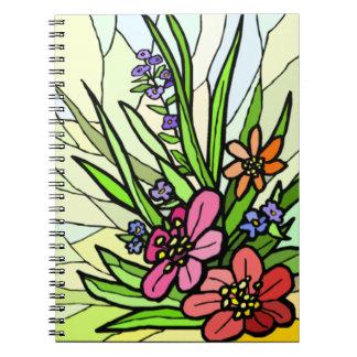 ガラス花園の螺線形ノートを汚して下さい ノートブック