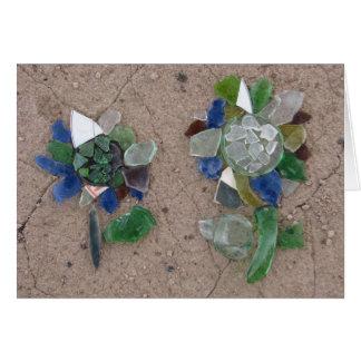 ガラス花 カード