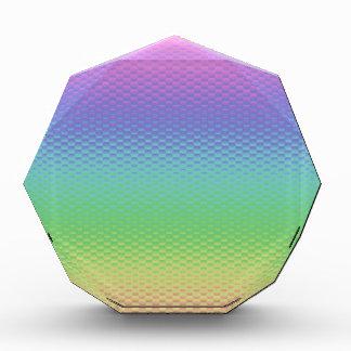 ガラス虹 表彰盾