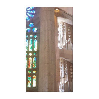 ガラス階段 キャンバスプリント