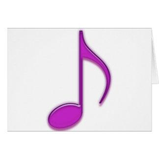 ガラス音楽用具 カード