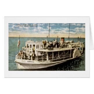 ガラス・ボトム・ボート、AvalonのCatalinaの島、カリフォルニア カード