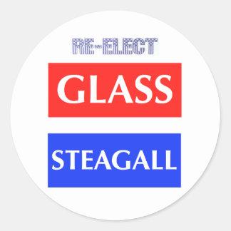 ガラスSteagallを再選して下さい ラウンドシール