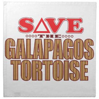 ガラパゴスのカメの保存 ナプキンクロス