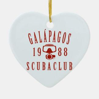 ガラパゴスのスキューバクラブ セラミックオーナメント