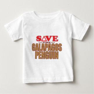 ガラパゴスのペンギンの保存 ベビーTシャツ