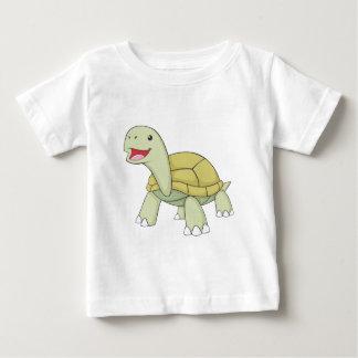 ガラパゴスの幸せなカメ ベビーTシャツ