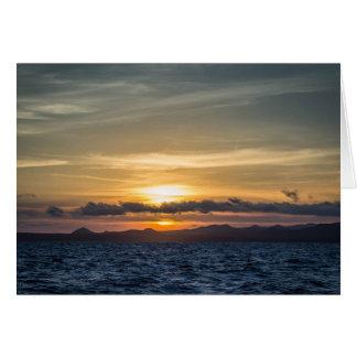 ガラパゴス諸島からの挨拶- Bartolome カード