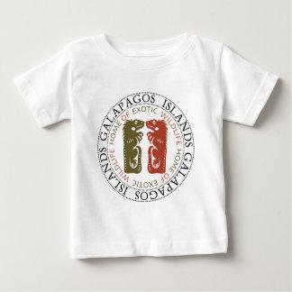ガラパゴス諸島のイグアナ ベビーTシャツ