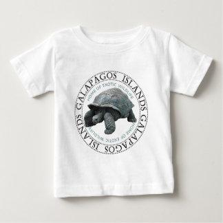 ガラパゴス諸島のカメ ベビーTシャツ