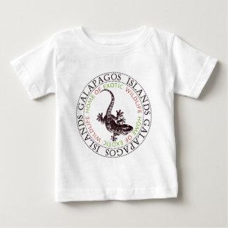 ガラパゴス諸島のヤモリ ベビーTシャツ
