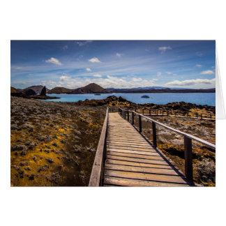 ガラパゴス諸島のBartolomeの島 カード