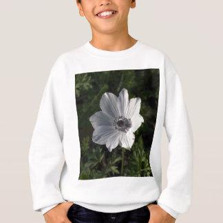 ガリラヤからの白いアネモネのcoronaria ( スウェットシャツ
