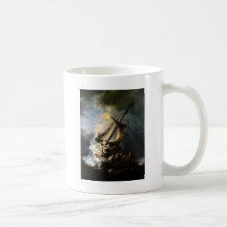 ガリラヤの海の嵐 コーヒーマグカップ