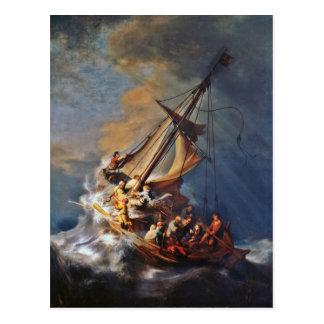 ガリラヤの海の嵐 ポストカード