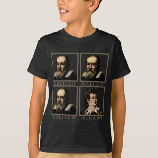 ガリレオFigaro Tシャツ