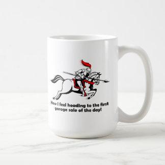 ガレージセール充満おもしろマグカップ コーヒーマグカップ