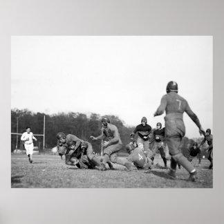 ガロデトのフットボール: 1923年 ポスター