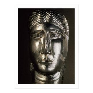 ガロローマ人の頭部第2第3世紀の広告(si ポストカード