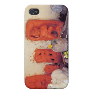 ガンジス川のチャペルの神社 iPhone 4/4S カバー