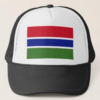 ガンビアの国民の世界の旗 キャップ