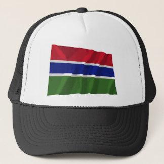 ガンビアの振る旗 キャップ