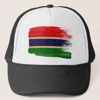 ガンビアの旗のトラック運転手の帽子 キャップ