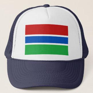 ガンビアの旗の帽子 キャップ