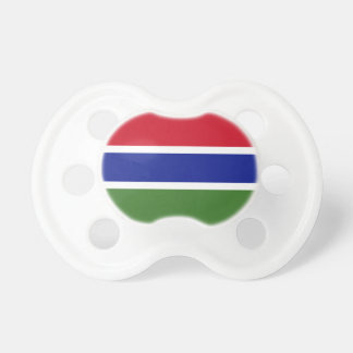 ガンビアの旗 おしゃぶり