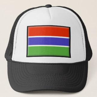 ガンビアの旗 キャップ