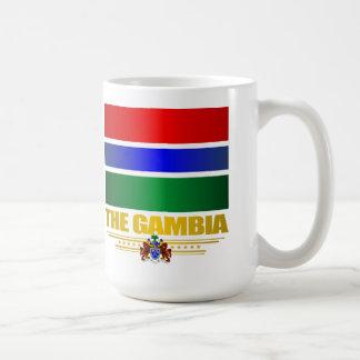 ガンビアの旗 コーヒーマグカップ