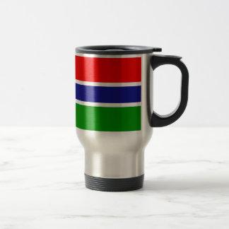 ガンビアの旗 トラベルマグ