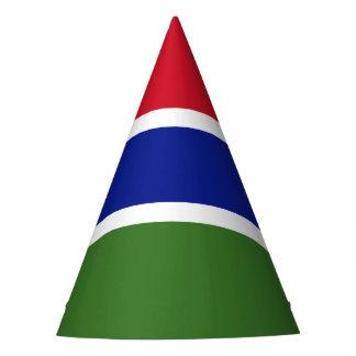 ガンビアの旗 パーティーハット