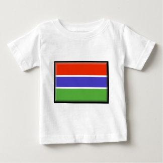 ガンビアの旗 ベビーTシャツ