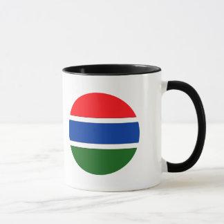 ガンビアの旗 マグカップ