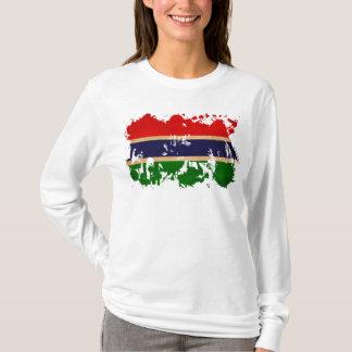 ガンビアの旗 Tシャツ