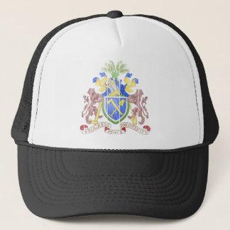 ガンビアの紋章付き外衣 キャップ