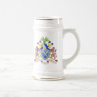 ガンビアの紋章付き外衣 ビールジョッキ