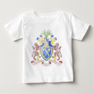ガンビアの紋章付き外衣 ベビーTシャツ