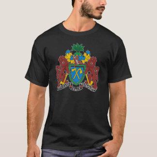 ガンビアの紋章付き外衣 Tシャツ