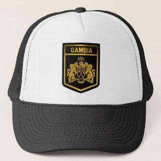 ガンビアの紋章 キャップ
